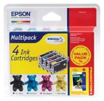 produkt-foto van 'Epson t0615 - set van 4-patronen, 1x zwart, 3x kleur'