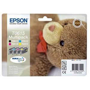 produkt-foto van 'Epson t061540 - set van 4-patronen (1x zwart, 3x kleur)'