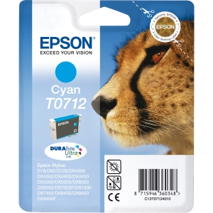 produkt-foto van 'Epson t0712 inkt-patroon - cyaan'
