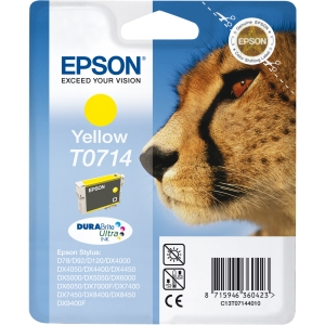 produkt-foto van 'Epson t0714 inkt-patroon - geel'