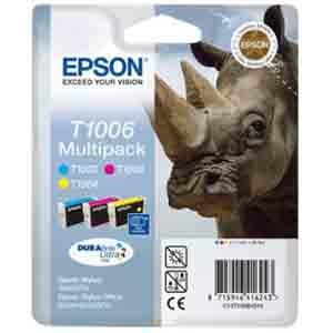 produkt-foto van 'Epson t1006 inkt-patroon - multi-pack, 3 patronen'
