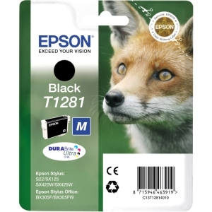 produkt-foto van 'Epson t1281 inkt-patroon - zwart, 5,9ml'