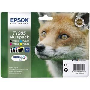 produkt-foto van 'Epson t1285 inkt-set - combo = zwart, cyaan, magenta & geel'
