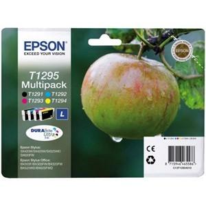 produkt-foto van 'Epson t1295 inkt-set - combo = zwart, cyaan, magenta & geel'