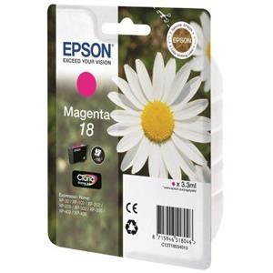 produkt-foto van 'Epson 18 - t1803 inkt-patroon, magenta'
