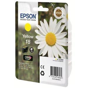 produkt-foto van 'Epson 18 - t1804 inkt-patroon, geel'