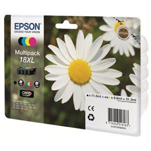produkt-foto van 'Epson 18xl - t1816 multi-pack, zwart, cyan, magenta & geel'