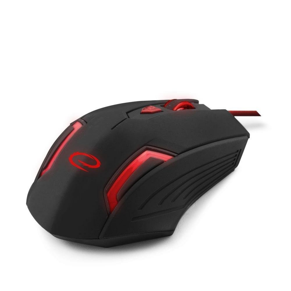 produkt-foto van 'Esperanza Gaming muis - mx205, Fighter, 6d gaming, rood, bedraad'