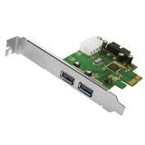produkt-foto van 'Ewent PCI-E kaart - usb 3.0 , poorten -> 2x extern + 2x intern'