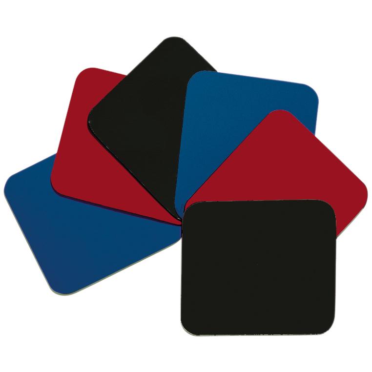 produkt-foto van 'Muismat - Rood, afmetingen=250x220x3 mm'