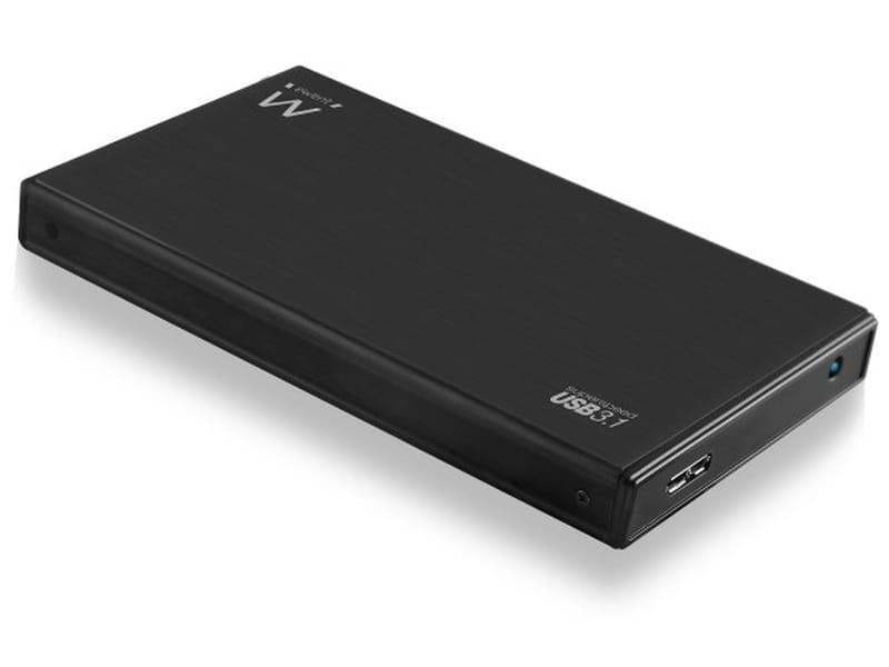 "produkt-foto van 'Ewent behuizing - harddisk 2,5"", sata, usb 3.1, zwart'"