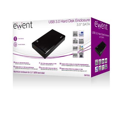 """produkt-foto van 'Ewent behuizing - harddisk 3,5"""", sata, usb 3.0'"""