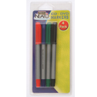 produkt-foto van 'Fellowes 4 pennen set (zwart, groen, rood & blauw)'