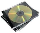 produkt-foto van 'Fellowes CD-doosje (voor 2 cd's - zwart - per 5 doosjes)'