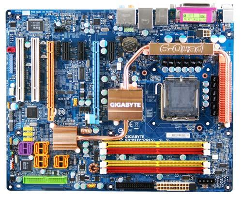 produkt-foto van 'Gigabyte ga-965p-dq6 (socket-775, fsb=1,066g, ddr2, lan)'