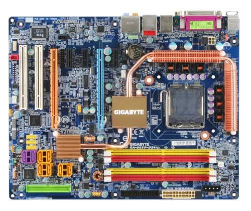 produkt-foto van 'Gigabyte ga-965p-ds4 (socket-775, fsb=1,066g, ddr2, lan)'