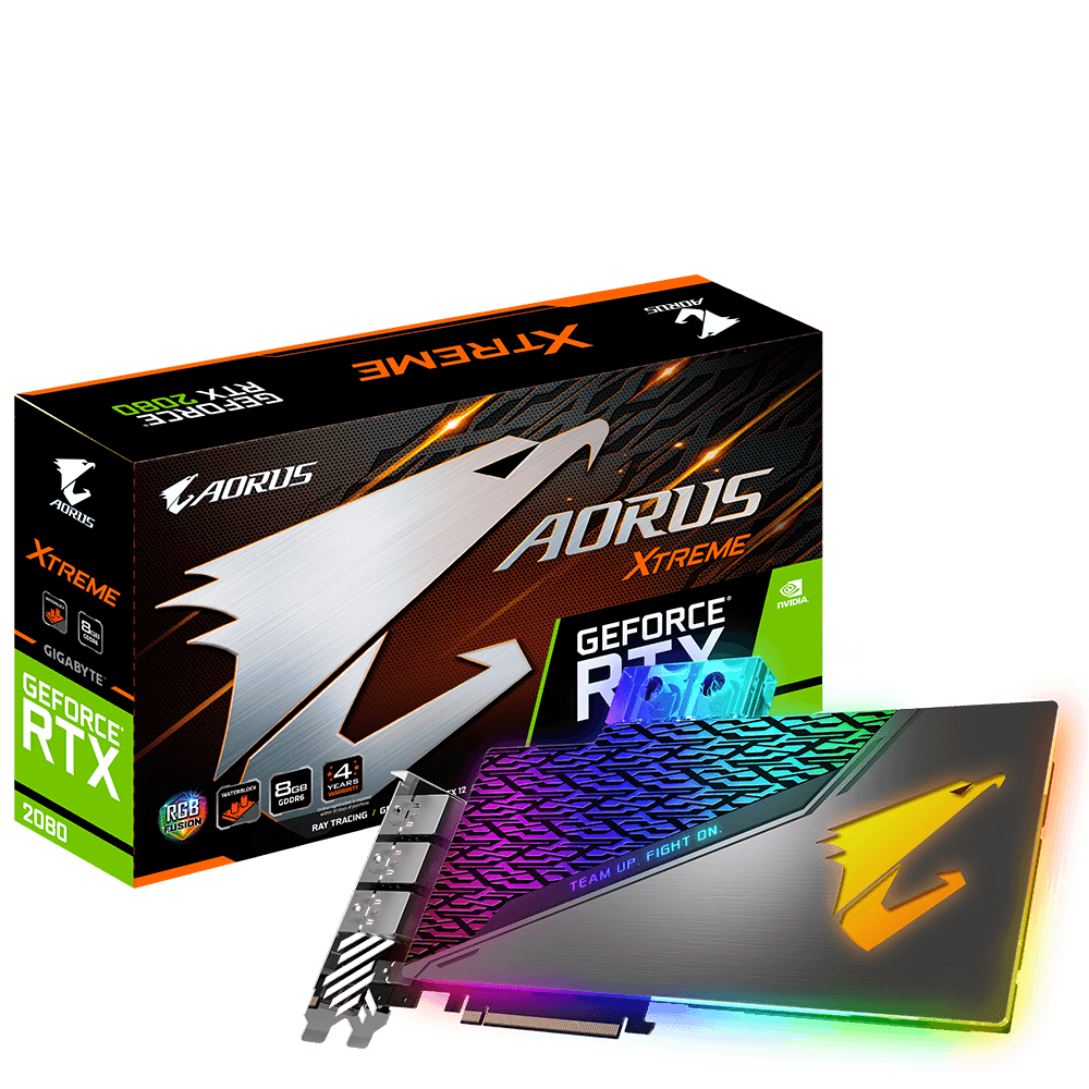 produkt-foto van 'Gigabyte Geforce video-kaart - gv-n2080aorus x wb-8gc, 11gb, hdmi/dp'