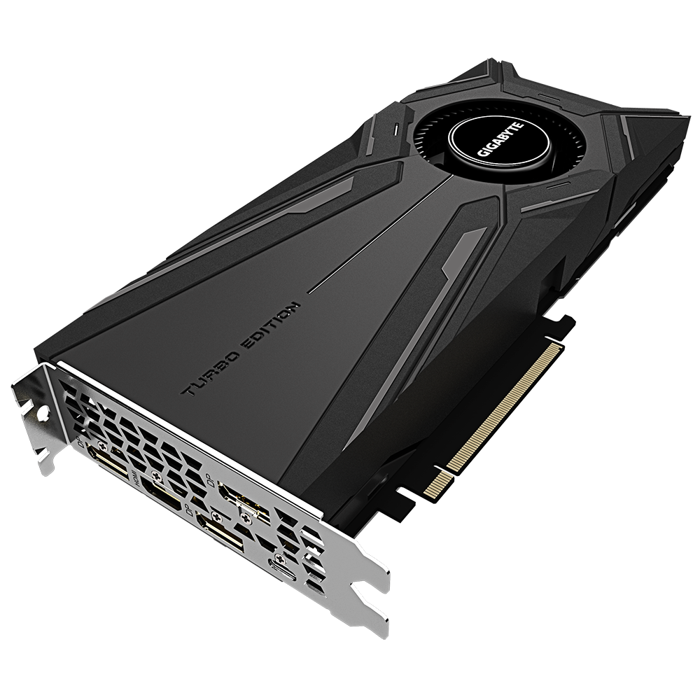 produkt-foto van 'Gigabyte Geforce video-kaart - gv-n2080tturbo-11gc v2.0, 11g, hdmi, dp, Fans'