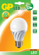 produkt-foto van 'gp LED lamp - verbruik 6,5w, lichtopbrengst 40w, classic a60, e27 fitting'