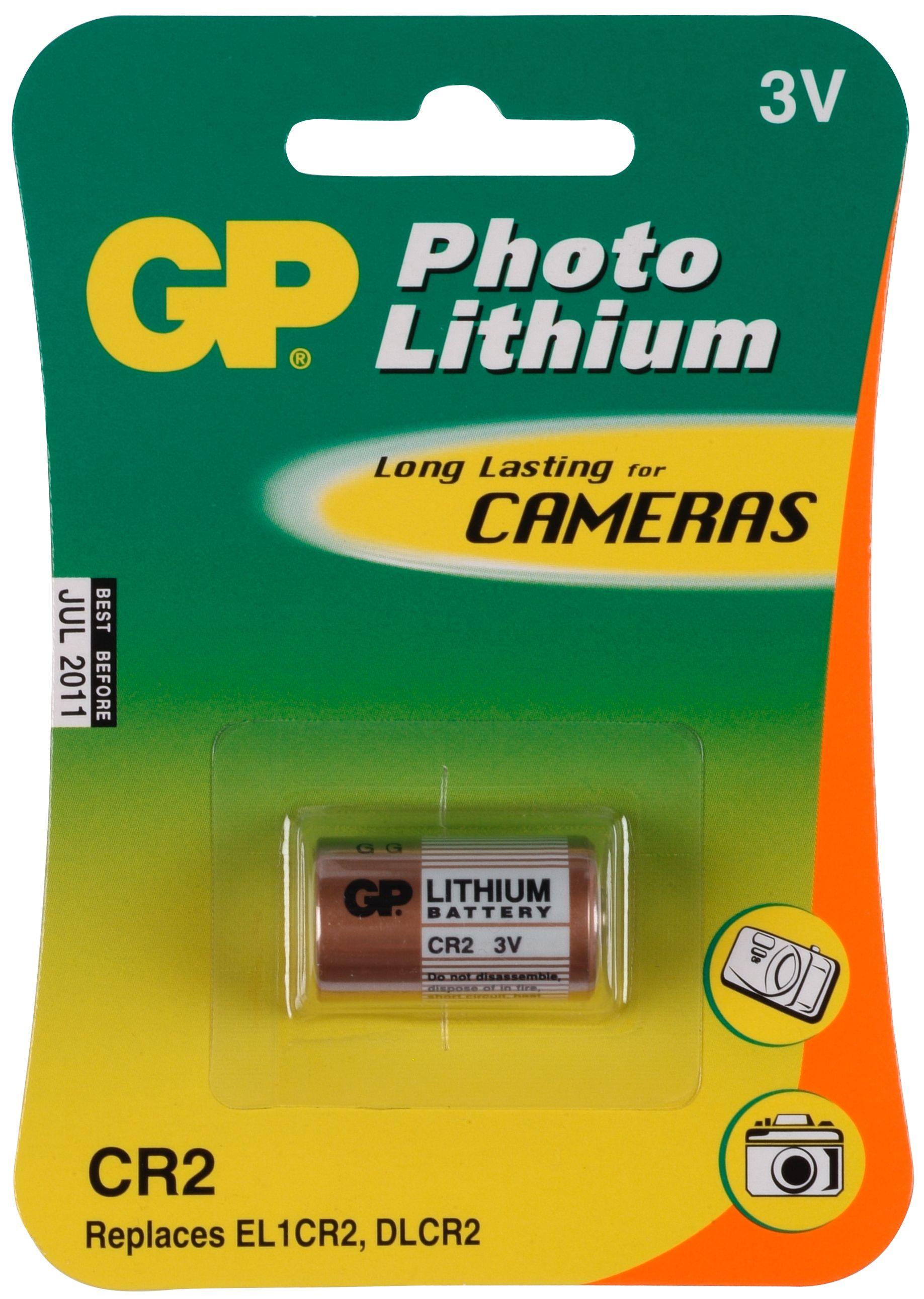 produkt-foto van 'GP545 - Knoopcel batterij CR2 voor PC'