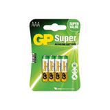 produkt-foto van 'gp batterij - lr03, Ultra Alkaline, aaa, 1,5v, 4 stuks'