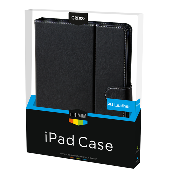 produkt-foto van 'Grixx Optimum Case iPad 2/3/4, 3 in 1 pu - zwart'