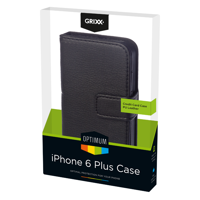 produkt-foto van 'Grixx Optimum Case iPhone 6 credit-card - wit'