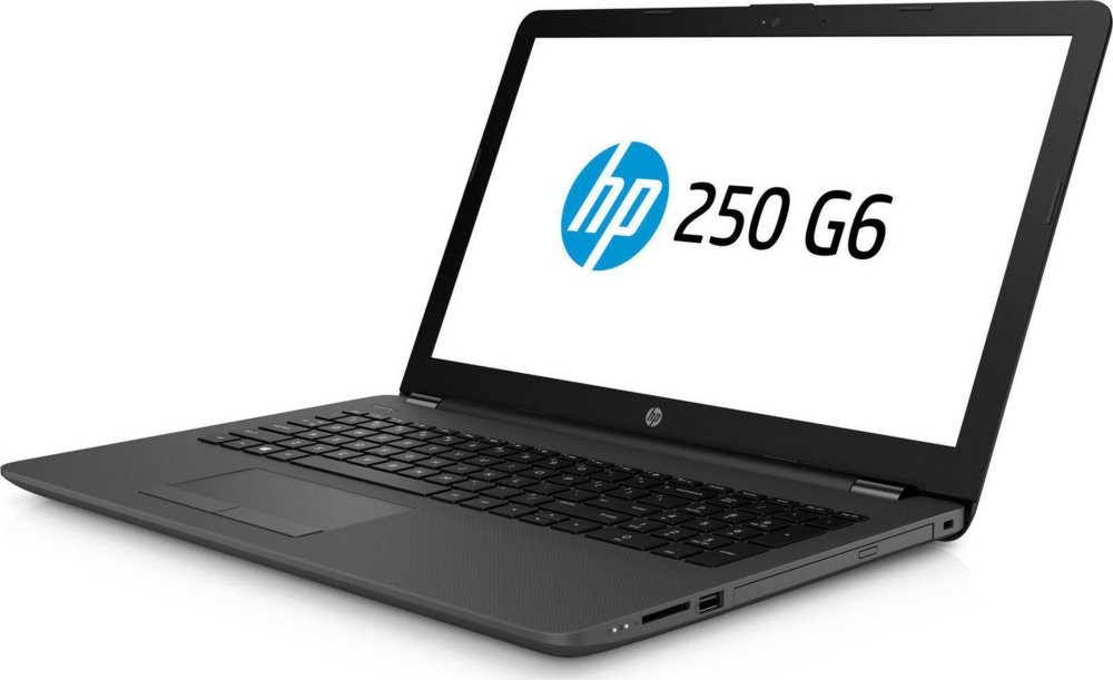 "produkt-foto van 'HP 250 g6 laptop - Celeron-n4000, 4gb, ssd 128gb, dvd, 15,6"" scherm, windows 10'"
