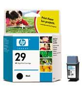 produkt-foto van 'HP 29 - 51629a, zwart, 40ml'
