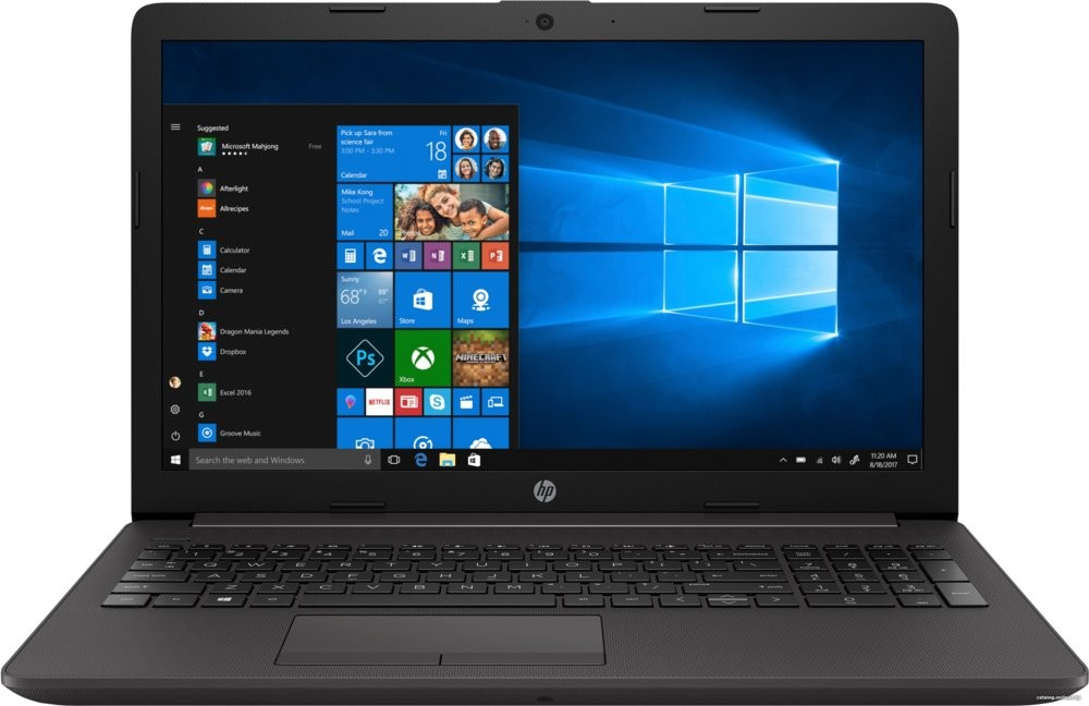 """produkt-foto van 'HP 250 g7 laptop - Pentium-4417u, 8gb, ssd 256gb, 15,6"""" scherm, windows 10'"""