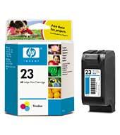 produkt-foto van 'HP 23 - c1823de (kleur - 30ml - ong. 620 pagina's)'