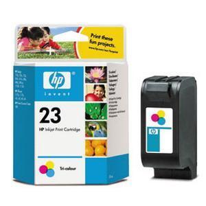 produkt-foto van 'HP 23 - c1823ge (kleur - 15ml - ong. 300 pagina's)'
