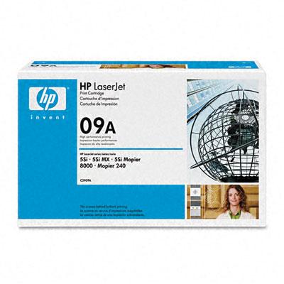 produkt-foto van 'HP toner - c3909a, zwart'