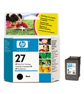 produkt-foto van 'HP 27 - c8727ae, zwart, 10ml, ong. 280 pagina's'