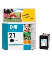 produkt-foto van 'HP 21 - c9351ae, zwart, 5ml, ong. 190 pagina's'