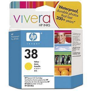 produkt-foto van 'HP 38 inkt-patroon - c9417a, geel, 27ml'