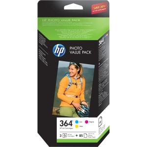 produkt-foto van 'HP 364 inkt-patroon - ch082ee, combi-pak, 3x kleur'