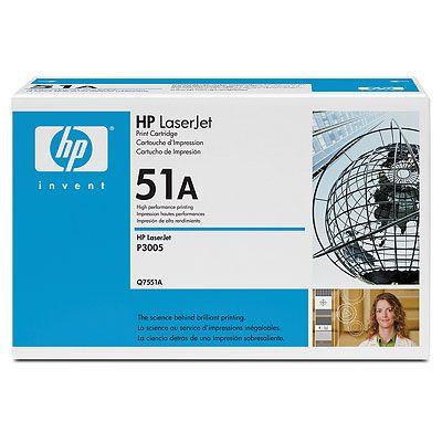 produkt-foto van 'HP 51a - q7551a toner, zwart'
