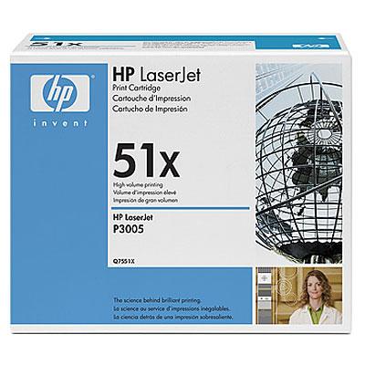 produkt-foto van 'HP 51x - q7551x toner, zwart, high capacity'