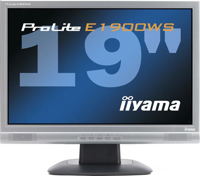 """produkt-foto van 'IIyama 19"""" TFT scherm (zilver - 5ms - ple1900ws-s3)'"""