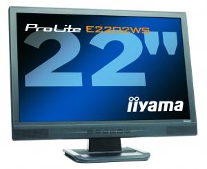 "produkt-foto van 'IIyama 22"" TFT scherm (zwart - 5ms - breedbeeld=1680x1050)'"