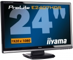 "produkt-foto van 'IIyama 24"" TFT scherm (zwart - 2ms - full-hd=1920x1080)'"