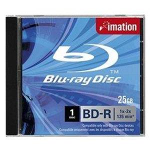 produkt-foto van 'Imation Blu-Ray - recordable, per stuk, 25gb, 2x JC'