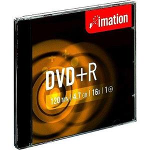 produkt-foto van 'Imation DVD+R recordable - 16x, 120min, 4,7gb, per stuk'