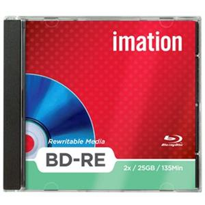 produkt-foto van 'Imation Blu-Ray - rewritable, per stuk, 25gb, 2x JC'
