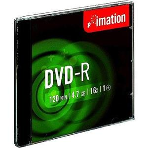 produkt-foto van 'Imation DVD-R recordable (per dvd - 16x - 120min / 4,7gb)'