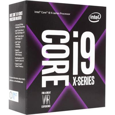 produkt-foto van 'Intel Core - i9-7900x, 3,3g, lga2066, 13,75m, 10 cores, 20 threads, zonder fan'