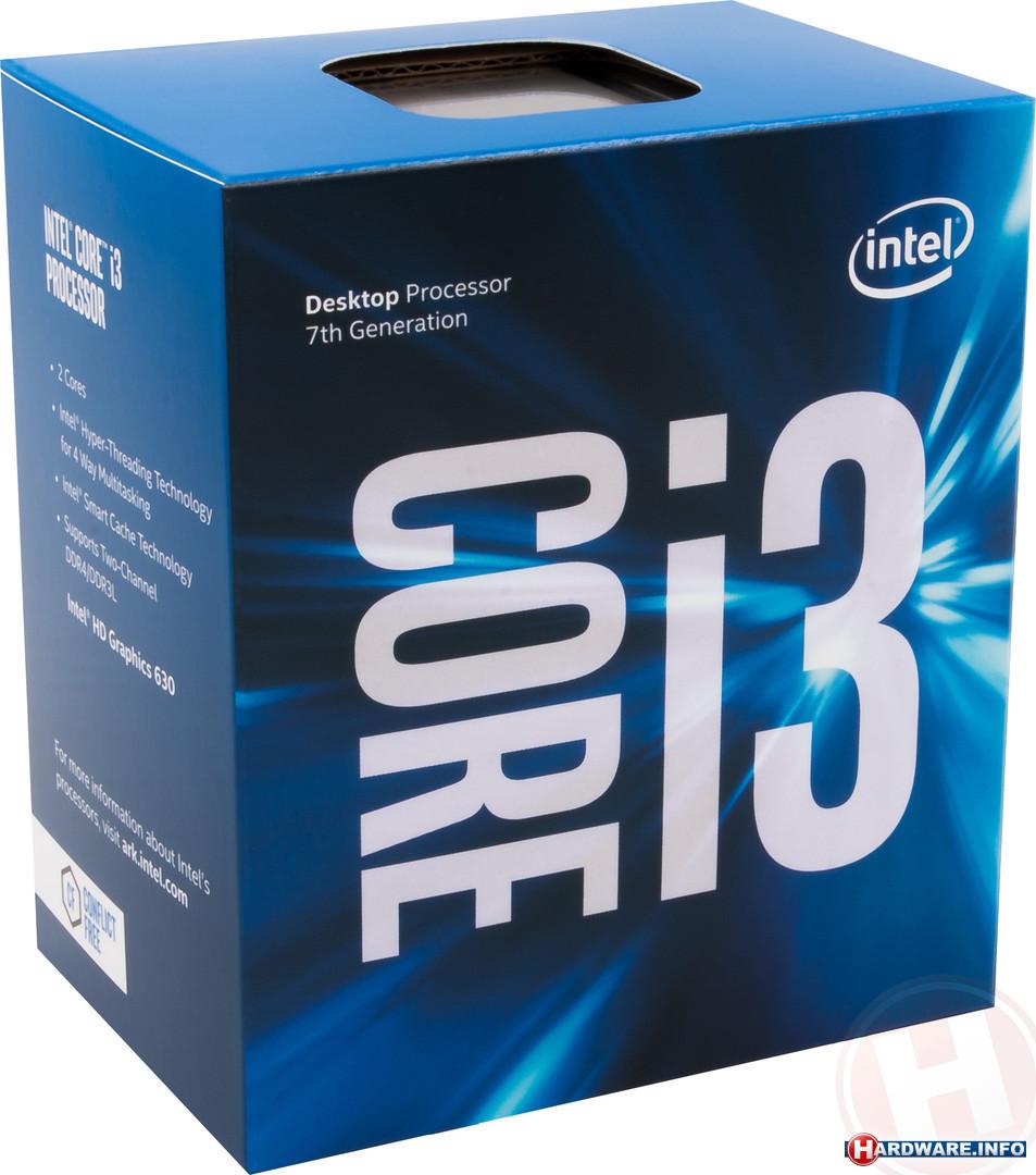 produkt-foto van 'Intel Core - i3-7100, 3,9g, lga1151, 3mb, Kaby Lake, inclusief CPU koeler'