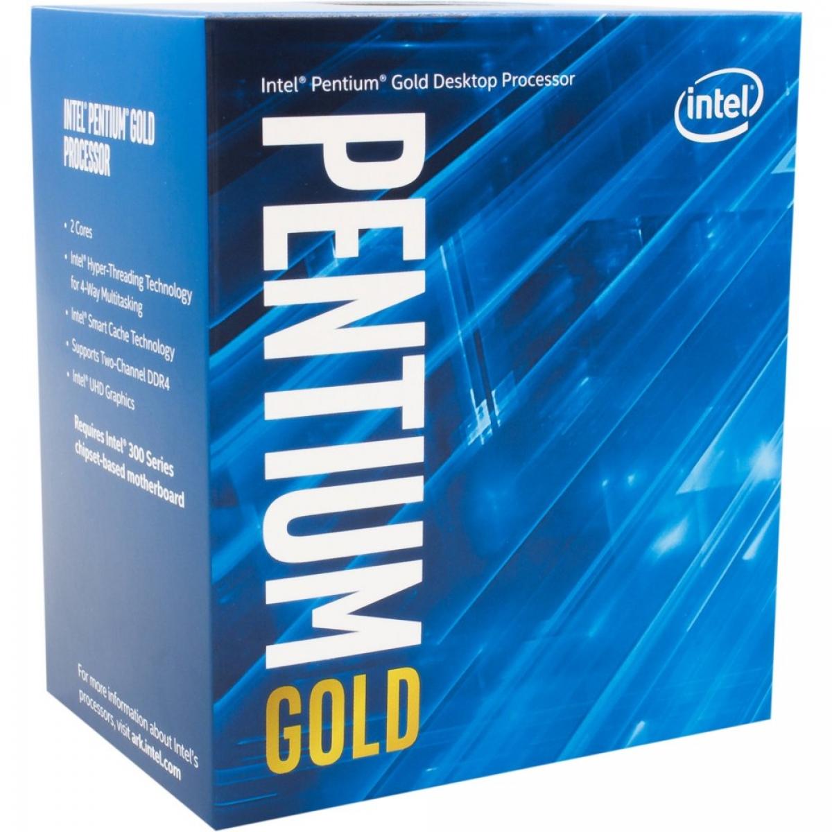 produkt-foto van 'Intel Pentium - g5500, 3,8g - lga1151, 4mb, Coffee Lake, inclusief CPU koeler'