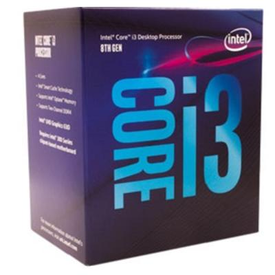 produkt-foto van 'Intel Core-i3-8100-3,6g, cpu-fan, ddr4-8gb & Asrock h310m-dvs'